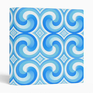Retro Swirls Binder