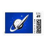 Retro Swoosh Postage Stamps