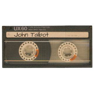 Retro T6 Audiotape personalized USB Wood Flash Drive