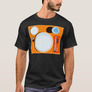 Retro Table Setting T-Shirt