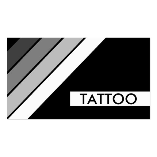 Tattoo business card business card templates page2 bizcardstudio retro tattoo stripes business card template fbccfo Choice Image