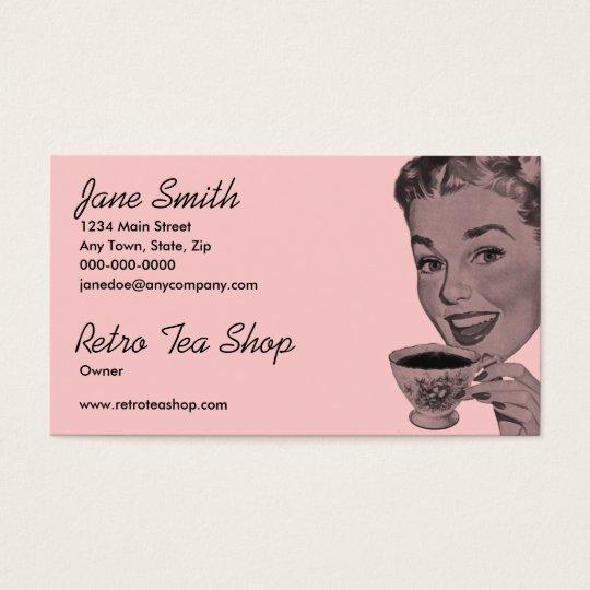 Retro Tea Business Card