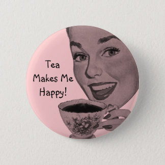 Retro Tea Button