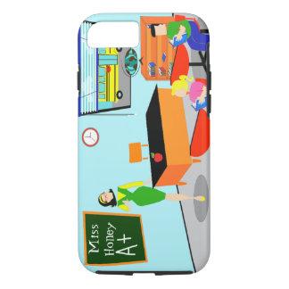 Retro Teacher iPhone 7 Case