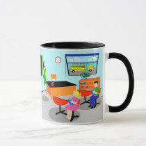Retro Teacher Mug