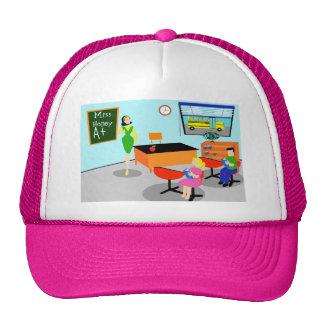 Retro Teacher Trucker Hat