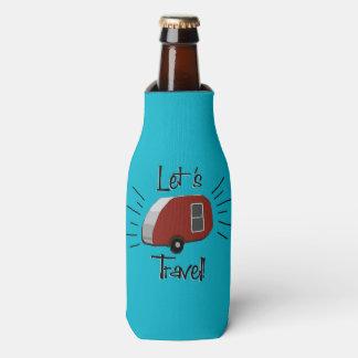Retro Teardrop Camper Drink Cooler