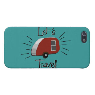 Retro Teardrop Camper iPhone 5 Case