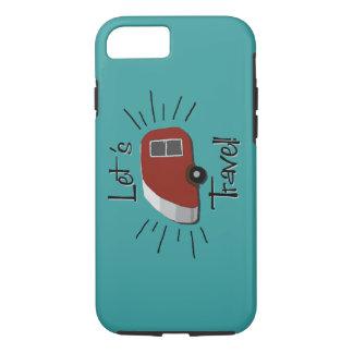 Retro Teardrop Camper iPhone 7 Case
