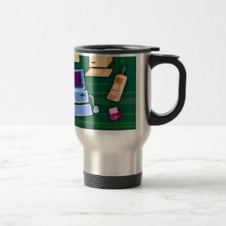 Retro Tech Rocks Travel Mug