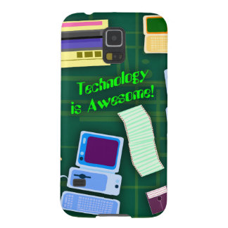 Retro Technology is Awesome Galaxy S5 Case