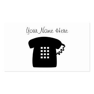Retro Telephone Business Card