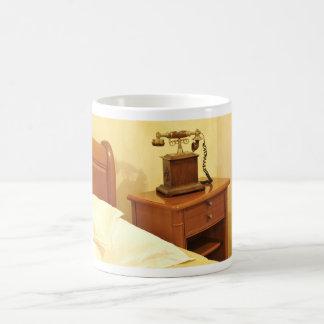Retro telephone coffee mug