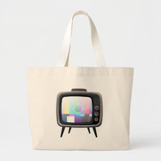 Retro Television Tote Bag