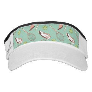 Retro tennis visor