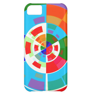 Retro Test Pattern iPhone 5C Covers
