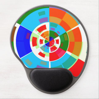 Retro Test Pattern Gel Mouse Pads
