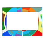 Retro Test Pattern Magnetic Picture Frame