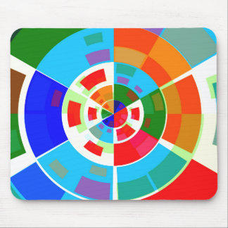 Retro Test Pattern Mouse Pads