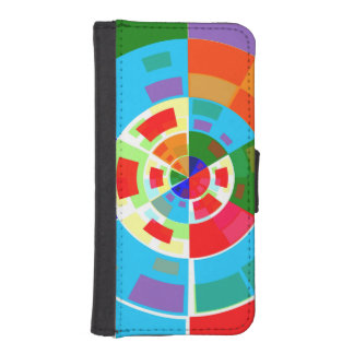 Retro Test Pattern iPhone 5 Wallet Cases