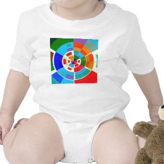 Retro Test Pattern Baby Bodysuit