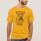Retro Texas Steer Sandwich and theatre play ad T-Shirt