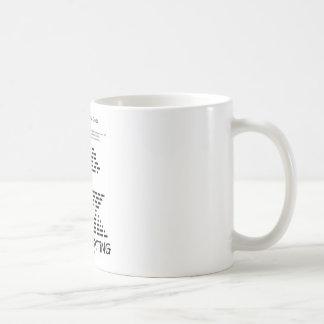 Retro Texting (Internatonal Morse Code) Mug