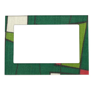 Retro Textures Magnetic Picture Frame