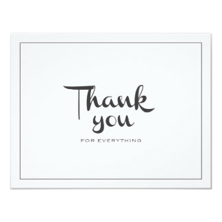 Retro Thank You Double-Sided Card