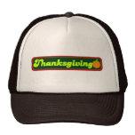Retro Thanksgiving Decal Trucker Hat