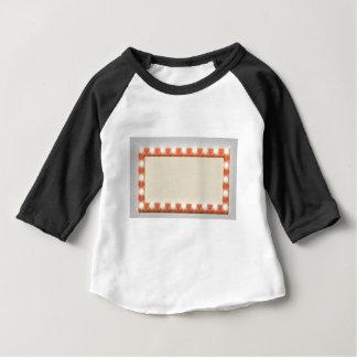 Retro Theatre Bulb Border Sign Baby T-Shirt