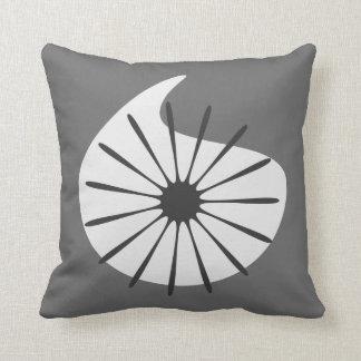 Retro Throw Pillow - Custom Color