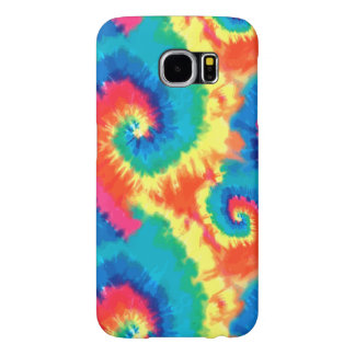 Retro Tie Dye Design Samsung Galaxy S6 Case