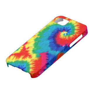 Retro Tie-dye iPhone 5 Barely There Universal Case iPhone 5 Cover