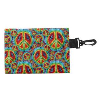 Retro Tie Dye Peace Signs Bagettes Bag Accessory Bag