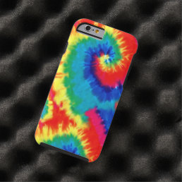 Retro Tie-dye Tough iPhone 6 Case