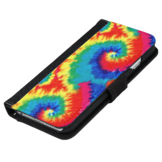 Retro Tie-dye Wallet Phone Case For iPhone 6/6s