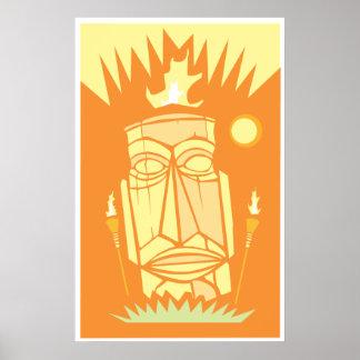 Retro Tiki #1 Poster