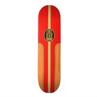 Retro Tiki Surfboard Skateboard Decks