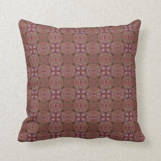 Retro Tiled Patterns Throw Pillow
