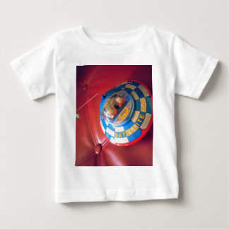 Retro Tin Flying Saucer Baby T-Shirt