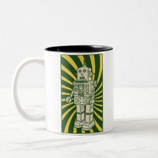 Retro TIN ROBOT Coffee Mug