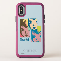 Retro Tinker Bell 1 OtterBox Symmetry iPhone X Case