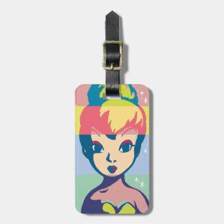 Retro Tinker Bell 2 Bag Tag