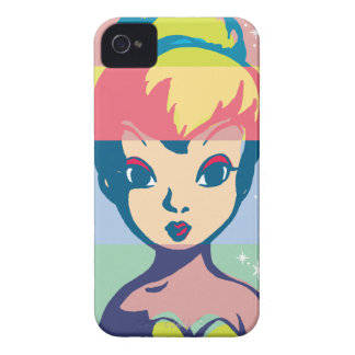 Retro Tinker Bell 2 iPhone 4 Cover