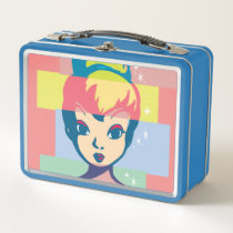 Retro Tinker Bell 2 Metal Lunch Box