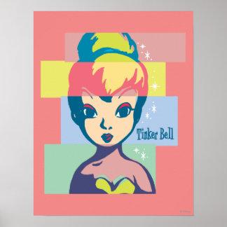 Retro Tinker Bell 2 Print