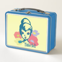 Retro Tinker Bell 3 Metal Lunch Box