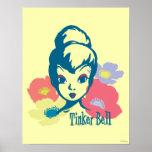 Retro Tinker Bell 3 Poster