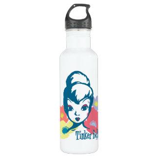 Retro Tinker Bell 3 Water Bottle